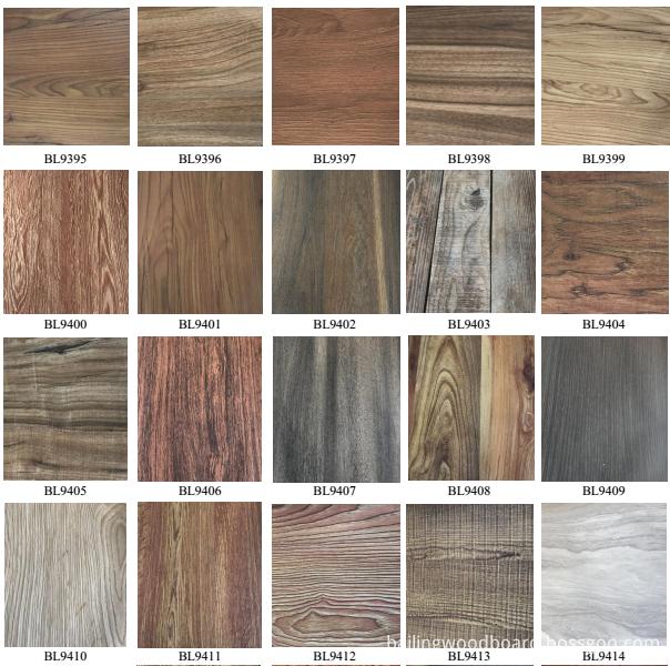 melamine wood color for MDF