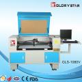 Cámara de vídeo láser de corte de la máquina Gls1080 con 80W tubo de vidrio láser