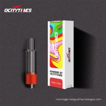 fast heated e cig vape atomizer empty .5ml 1.0ml quartz glass vape cartridge cbd
