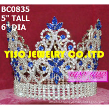 beautiful crystal pageant crown