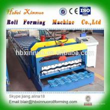 máquina formadora de rolo de aço de camada única