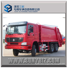 Sinotruck HOWO 6X4 Garbage Truck Rear Loading for Sale