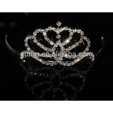 Corona al por mayor de la princesa del niño, pequeña princesa corona, corona mini de los cabritos