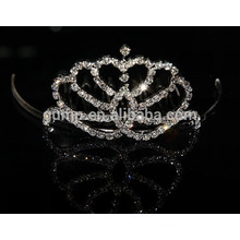 Wholesale child princess crown, small princess crown, mini kids crown