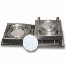 Plastic Bucket Mold with 2D or 3D Design, Customized Specifications are Accepted