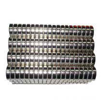 Precio de fábrica fuerte NdFeB D25X5mm imán redondo con níquel