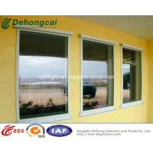 Fenêtre fixe en aluminium isolée d'usine de prix UPVC