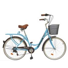 "Rear 7speed 24"" City Bike Girl Bicycle (FP-LDB-042)"