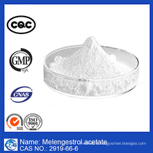Made in China and 99% Purity Melengestrol Acetate