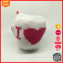 2017 New Arrival Knitted Fruit Protection Packaging Bag for Decoration