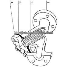 ANSI Y type brass strainer