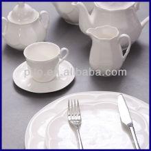 P & T Porcelain usine hôtel set de vaisselle set de café