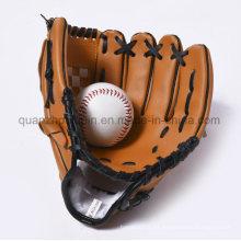 Los niños promocionales coloridos del PVC del OEM embroman el guante de béisbol adulto