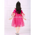 2016 girls long party wear sleeping beauty Aurora princess dress costume