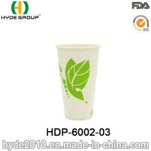 Taza de papel de la bebida fría de la sola pared disponible del diseño simple 16oz