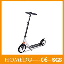 "Scooters de patinaje adulto plegable altura ajustable 8 ""rueda de la rueda grande de grasa"