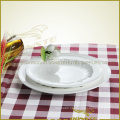 Western Dinner Set Radial Lines with Curved Edge Series