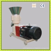 Molino de pellet de alimentación animal de alto rendimiento pequeño hecho en China