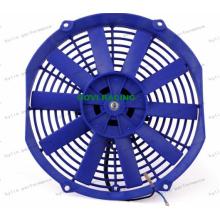 14inch azul universal del radiador del coche ventilador eléctrico de refrigeración