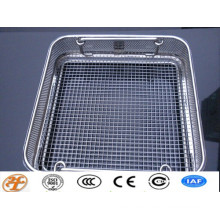 woven mesh/crimped mesh/welded mesh sterilization basket