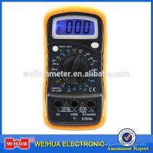 Популярный цифровой мультиметр DT858L CE с температурой с GS