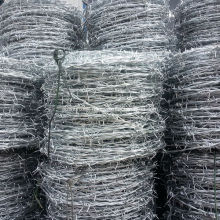 PVC coated  barbed wire sale