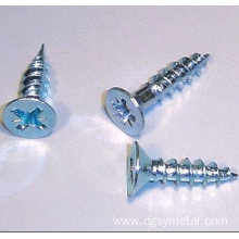 Carbon steel phillips self tapping screws
