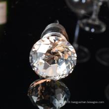 Bouchon de bouteille de vin de diamant de décoration de mariage