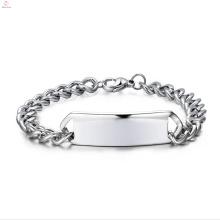 Mens pulseira de aço inoxidável por atacado jóias