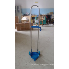 Oxygen Cylinder Trolley for Different Volume