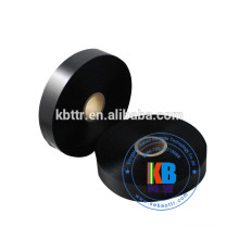 Garment textile clothing care thermal printing label printed poly 100% polyester poly satin fabric