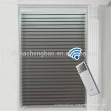 China proveedor día noche rodillo ciega gasa eléctrica shangri-la persianas