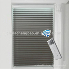 Chine fournisseur jour nuit rouleau aveugle gaze électrique shangri-la stores