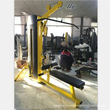 gym equipment Lat Pulldown And Seated Row XH923A