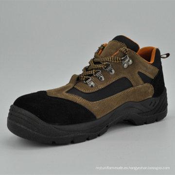 Zapatos de trabajo con estilo de la punta del pie de acero Ufb055