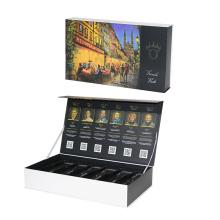 Weinbox mit schwarzem Kunststoffbehälter
