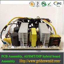 tablero montado del PWB tablero del regulador industrial y montaje del tablero del PWB