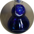 blue Color Glass Smoking Pipe