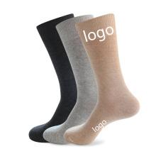 Superstarer Wholesale Custom Logo Cotton Socks Amazon 2020 New Fashion Plain Color Crew Socks