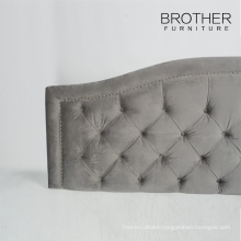 New Design French queen headboard with tufting and nailheads