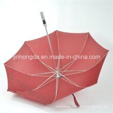 """Rot 27 """"Golf-Förderung, die kundenspezifischen Logo-Regenschirm (YSS0120) annonciert"""