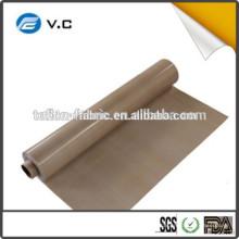 2016 Fabricante mais vendido Tela de fibra de vidro revestida de PTFE non-stick para a laminação do painel solar feito na porcelana