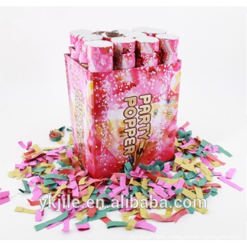 Red Rose Petal Handheld Shooting Confetti Cannon