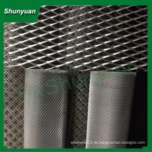 Hersteller Preis Aluminium abgeflachtes Metall Mesh / Maschendraht