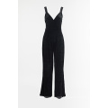 Iron silver jumpsuit with shoulder girdle