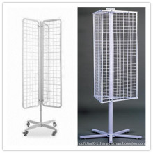 Mobile Rotary Metal Display Stand/Display Rack