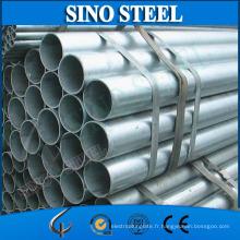 Tube en acier de tuyau en acier galvanisé concurrentiel