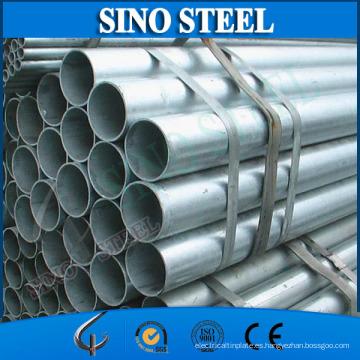 Tubería de acero galvanizado Q195 para la construcción de tubos de soldadura