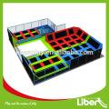 Vergnügungspark Indoor Sky Zone Indoor Trampolin Park für die Förderung