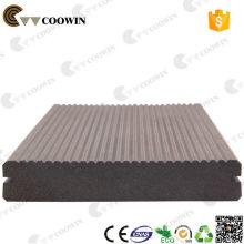 Impermeabilidade à prova de intempéries ao ar livre wpc à prova d'água piso de madeira